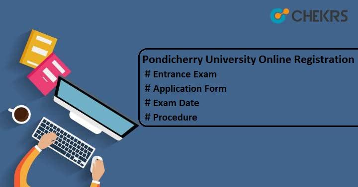 Pondicherry University Online Registration