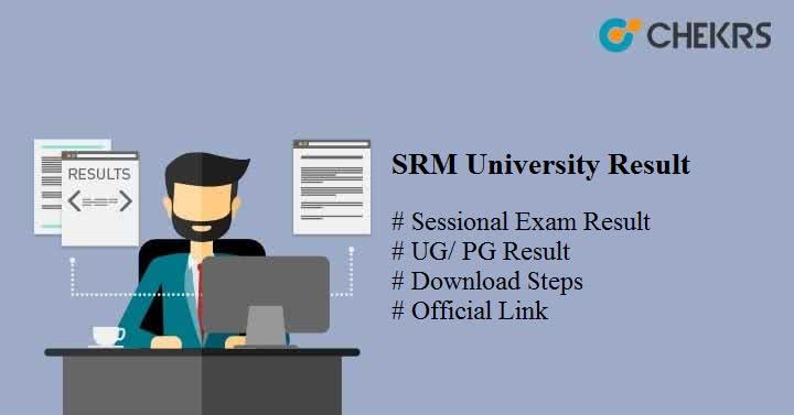 srm university result
