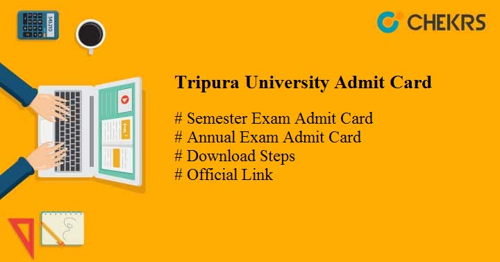 tripura university admit card tripurauniv.in Tripura University Exam