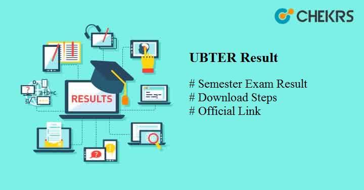 ubter result