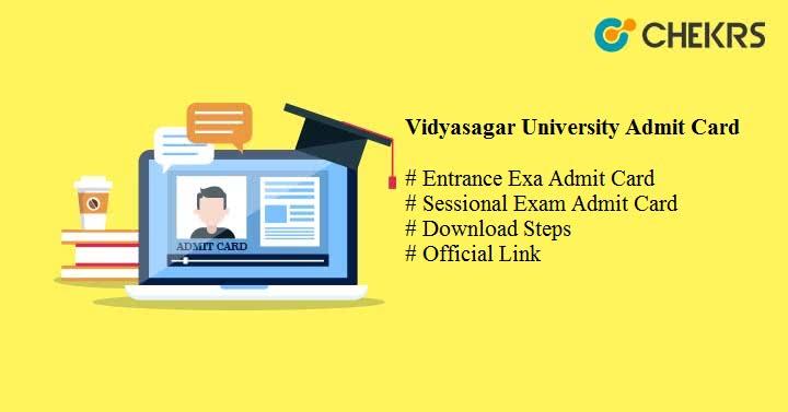 Vidyasagar University Admit Card 2020