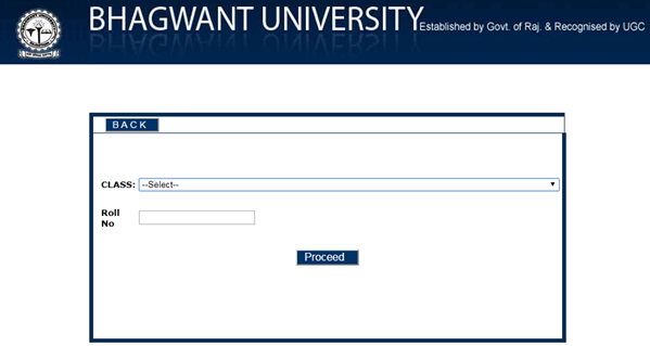 bhagwant university result