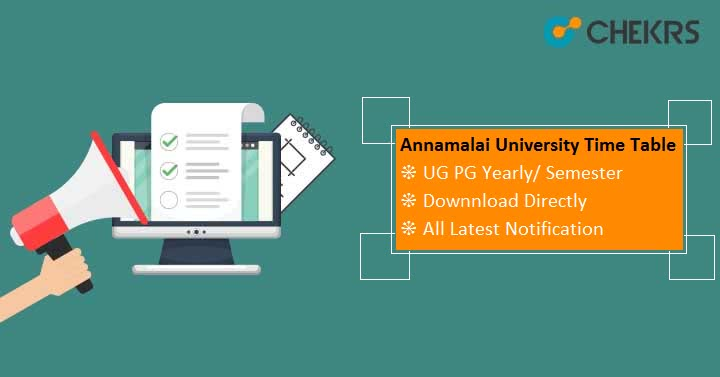 annamalai university exam time table 2019