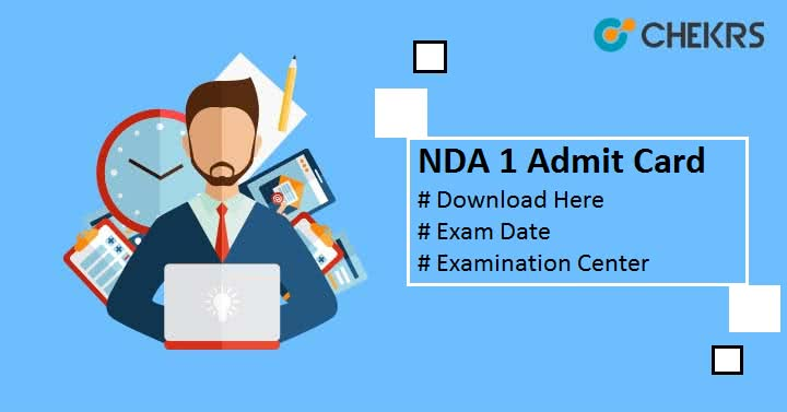 NDA 1 Admit Card 2019
