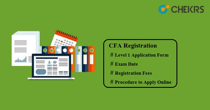 CFA Registration
