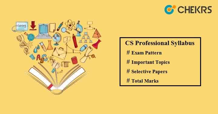 CS Professional Syllabus