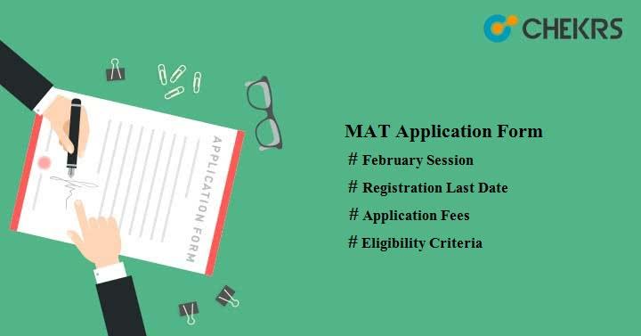 MAT Application Form