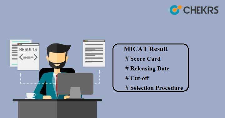 MICAT Score Card