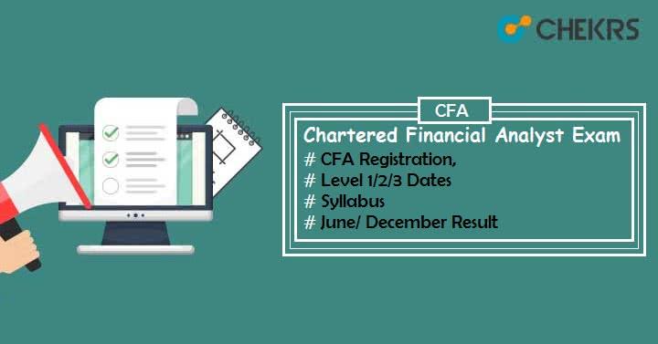 CFA June 2019 Registration