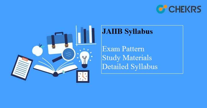 JAIIB 2019 Syllabus