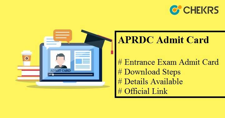 aprdc admit card 2021