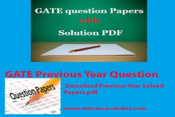 GATE CSE Previous Year Question Papers