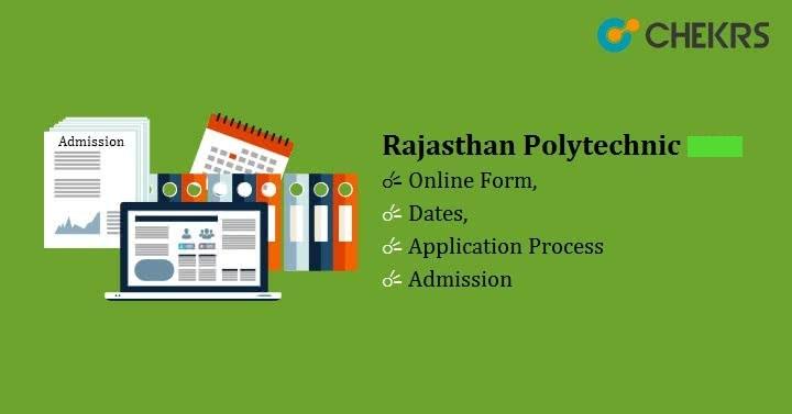 Rajasthan Polytechnic Admission 2022