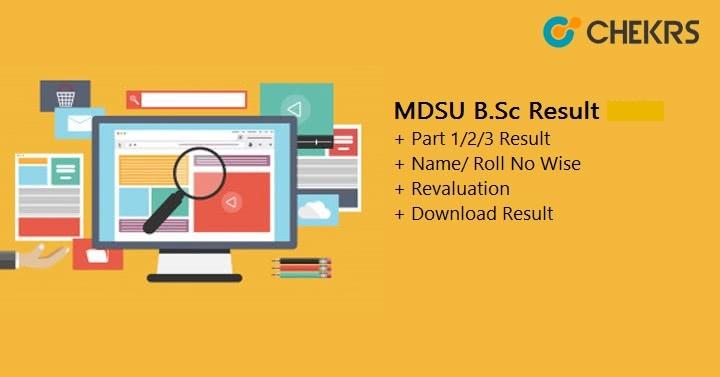 MDSU B.Sc Result 2021