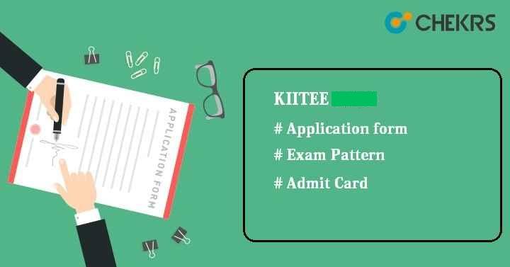 KIITEE Application Form 2022