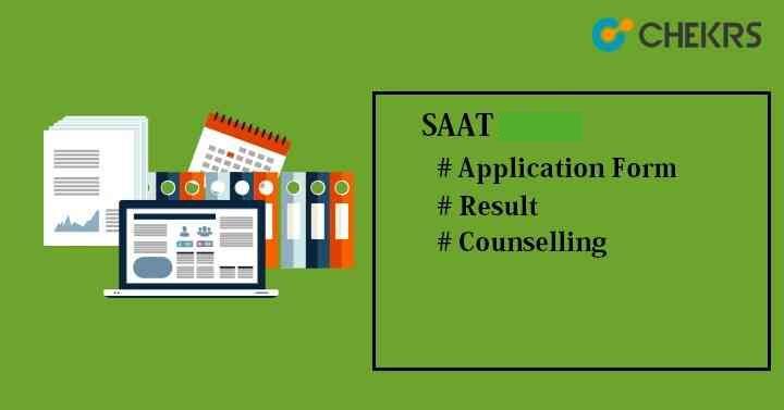 SAAT 2021 Application Form