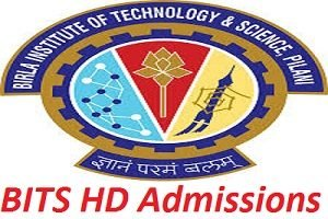 BITS HD Admission Test 2017