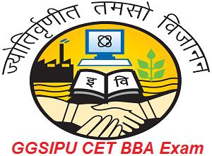 GGSIPU CET BBA Exam 2017