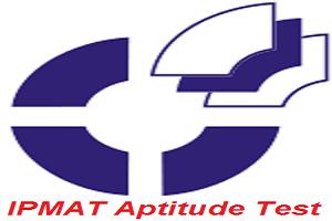 IPMAT Aptitude Test 2017
