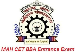 MAH CET BBA Entrance Exam 2017