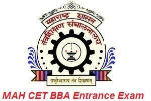 MAH CET BBA Entrance Exam 2017