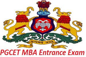 PGCET MBA Entrance Exam 2017