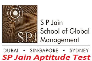 SP Jain Aptitude Test 2017