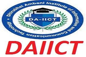 DAIICT Engineering Admission Test 2017