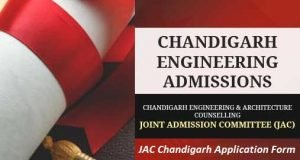 JAC Chandigarh Application Form 2017