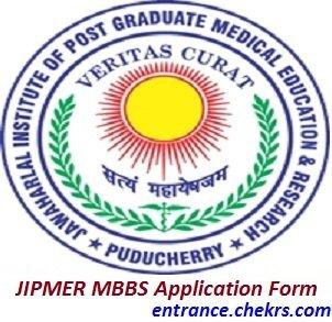 JIPMER MBBS Application Form 2017