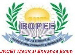 JKCET Medical Entrance Exam 2017