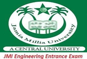 JMI Engineering Entrance Exam 2017