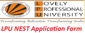 LPU NEST Application Form 2017