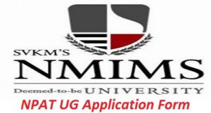 NPAT UG Application Form 2017