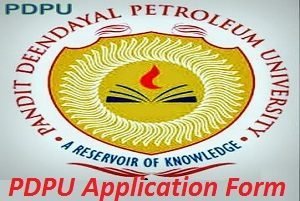 PDPU Application Form 2017