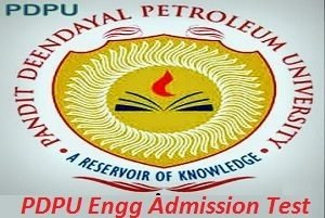 PDPU Engineering Admission Test 2017