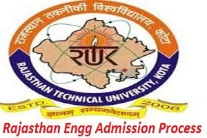 Rajasthan Engineering Admission Process 2017