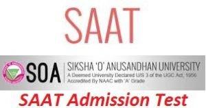 SAAT Admission Test 2017