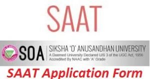 SAAT Application Form 2017