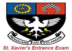 St. Xavier's Entrance Exam 2017
