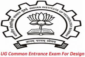 UG Common Entrance Examination For Design 2017