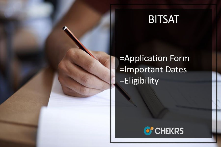 BITSAT Application form | Eligibility | Admit Card | Result