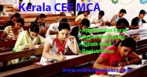 kerala cee mca application form, important dates, eligibility