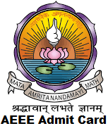 AEEE Admit Card 2017