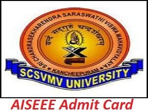 AISEEE Admit Card 2017