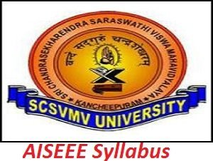 AISEEE Syllabus Exam Pattern 2017