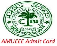 AMUEEE Admit Card 2017