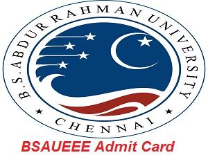 BSAUEEE Admit Card 2017