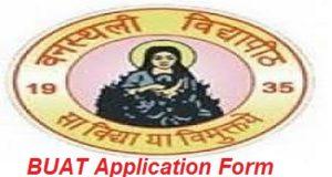 BUAT Application Form 2017