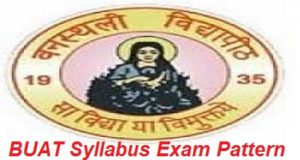 BUAT Syllabus Exam Pattern 2017